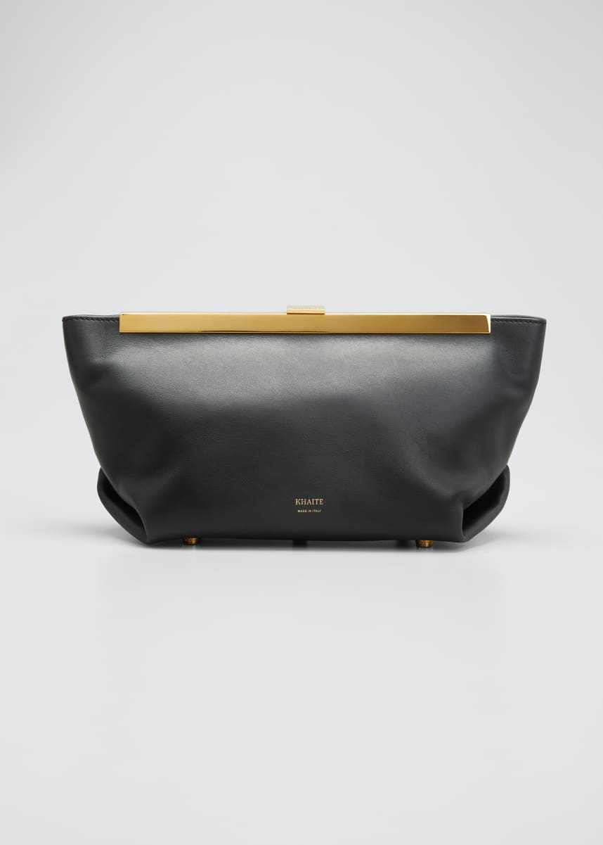 Khaite Aimee Framed Clutch Bag