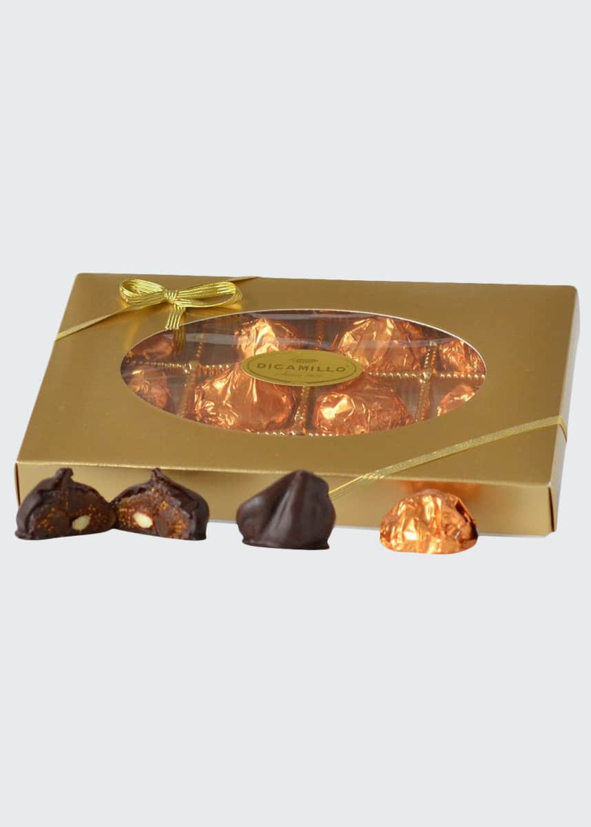Dicamillo Baking Co Chocolate Covered Almond Stuffed Figs