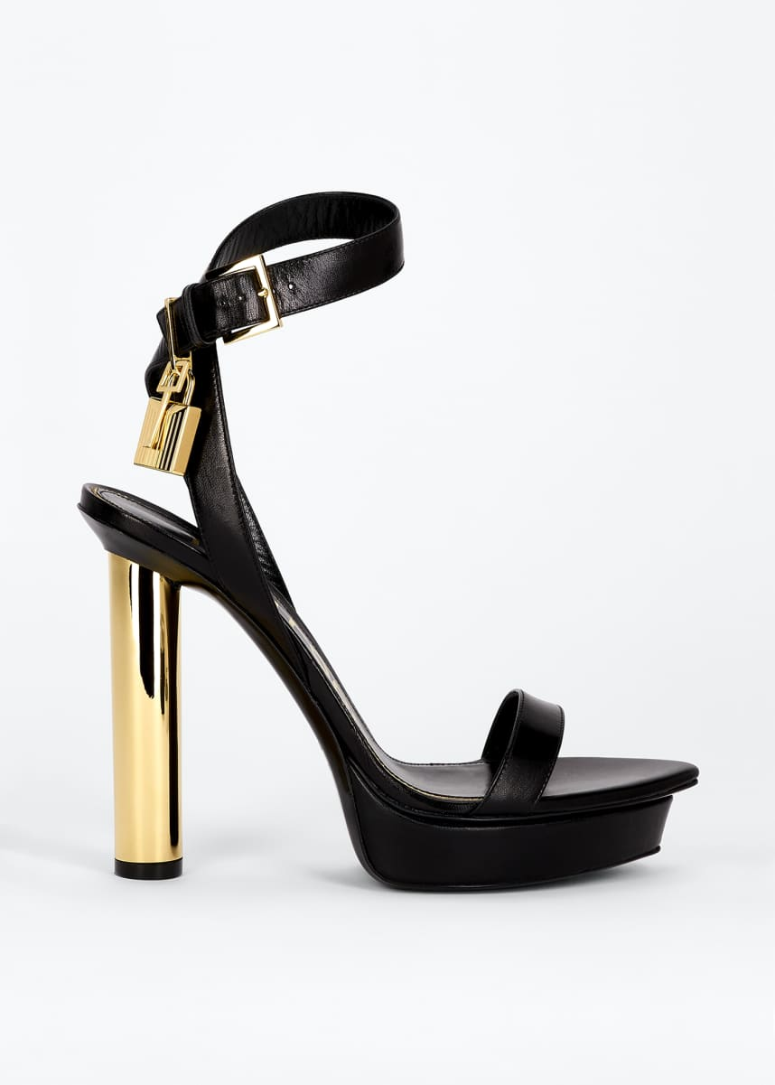 TOM FORD 125mm Platform Lock Sandals