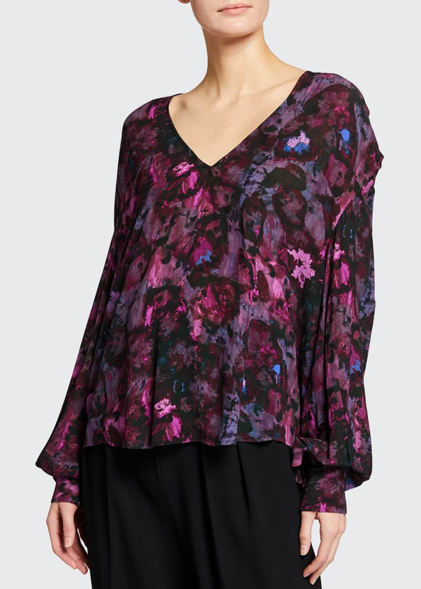 Iro Hush Printed Top