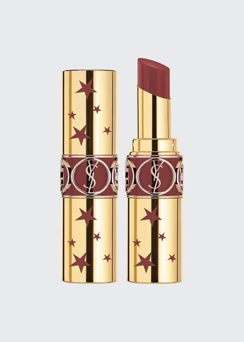 Yves Saint Laurent Beaute Rouge Volupte Shine Lipstick - Limited Edition Star Collector