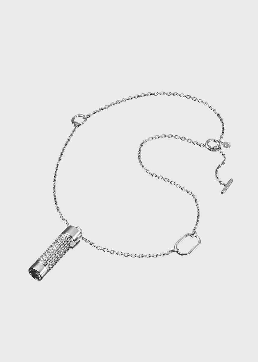 Veronique Gabai Heavy Silver Link Chain, 30""