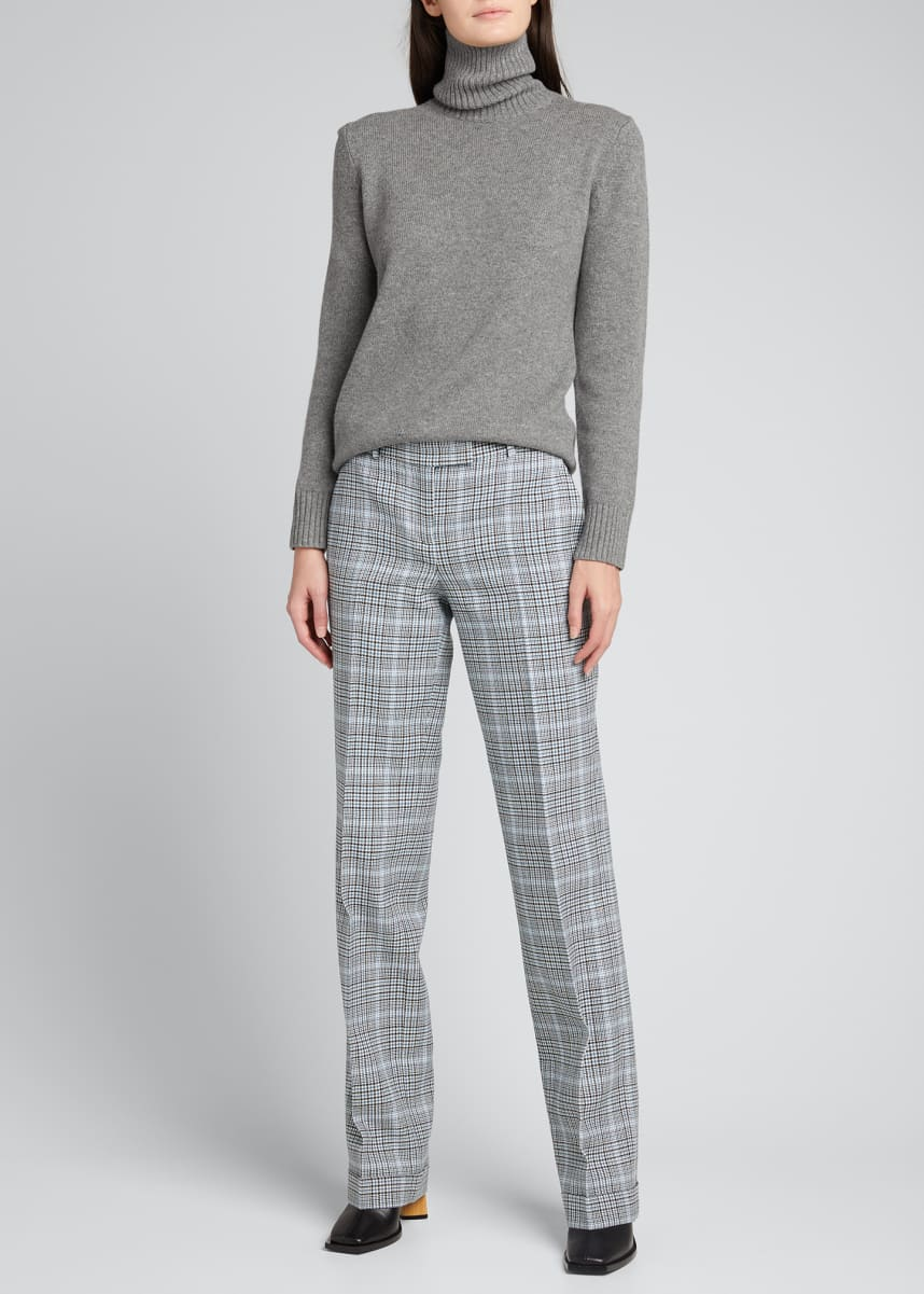 Michael Kors Collection Tonne Wool Cuffed Trousers