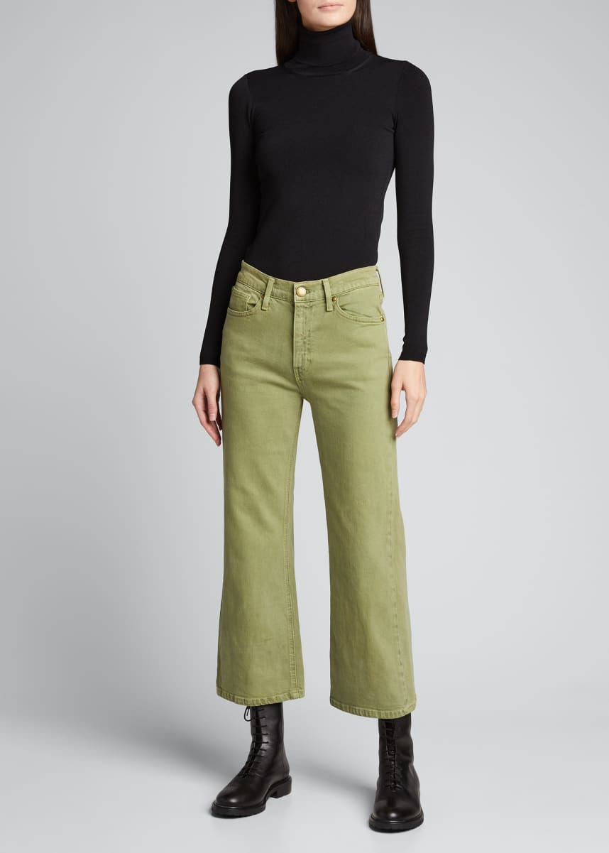 The Great The Riderette Crop Jeans