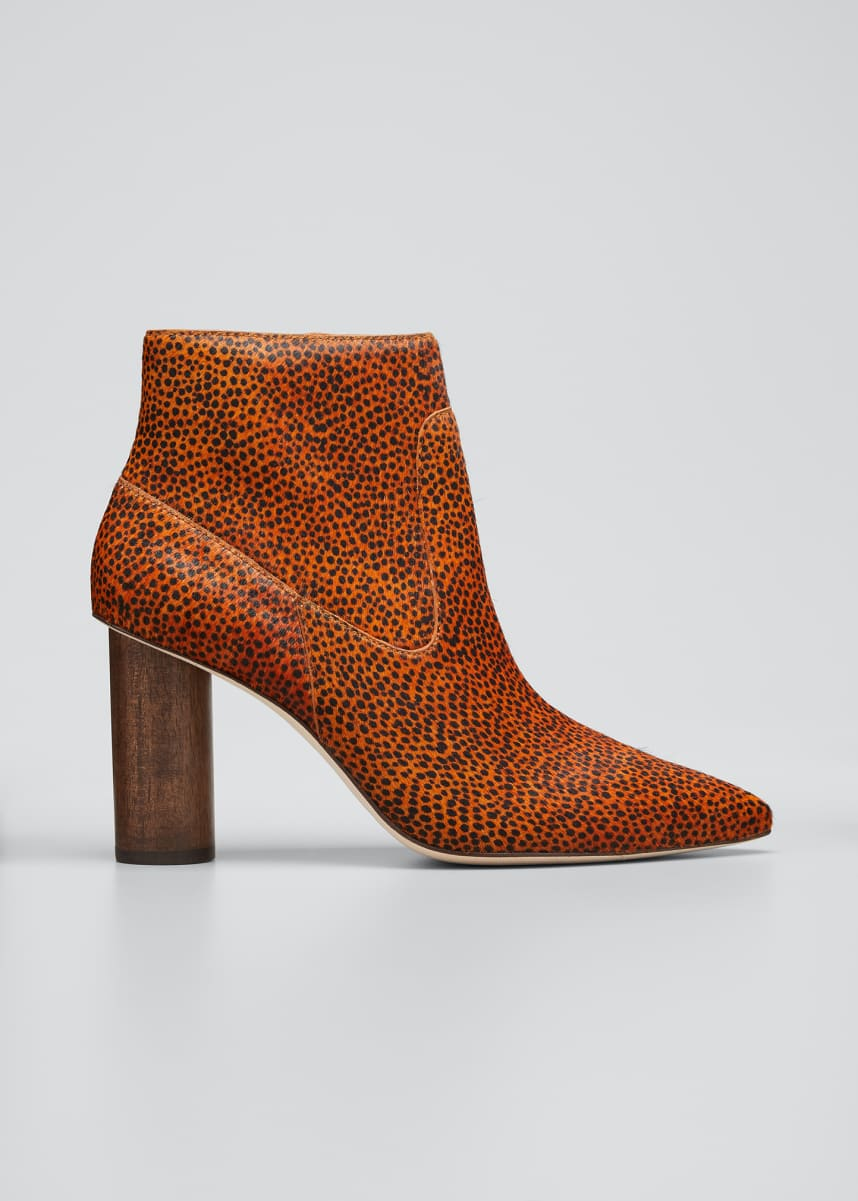 Ulla Johnson Helia Mid-Heel Booties