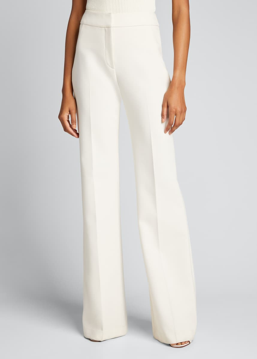 Veronica Beard Lebone Wide-Leg Pants