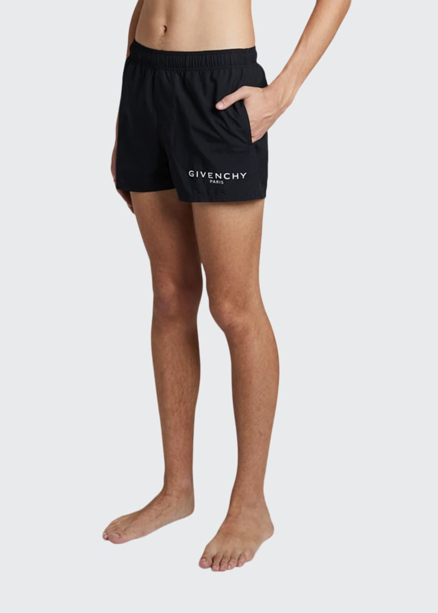 Givenchy Men's Logo Swim Shorts
