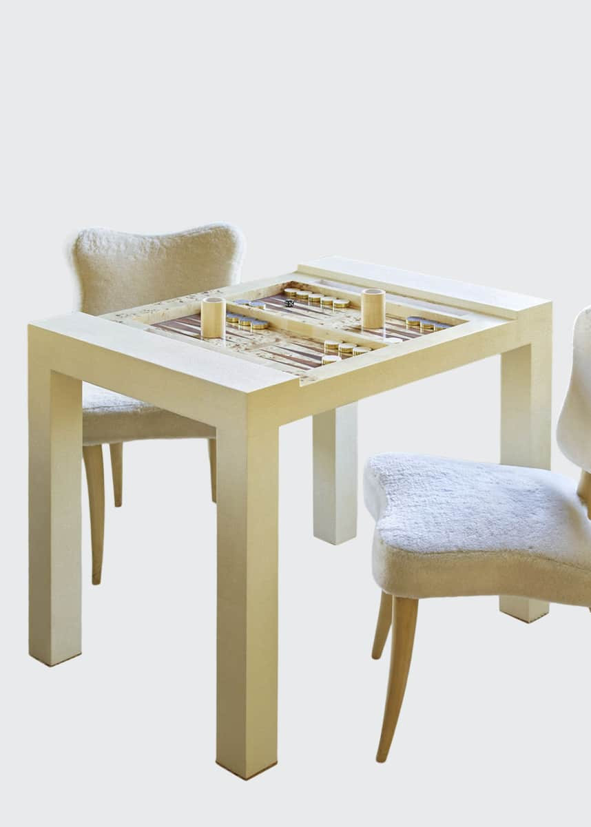 AERIN Shagreen Game Table