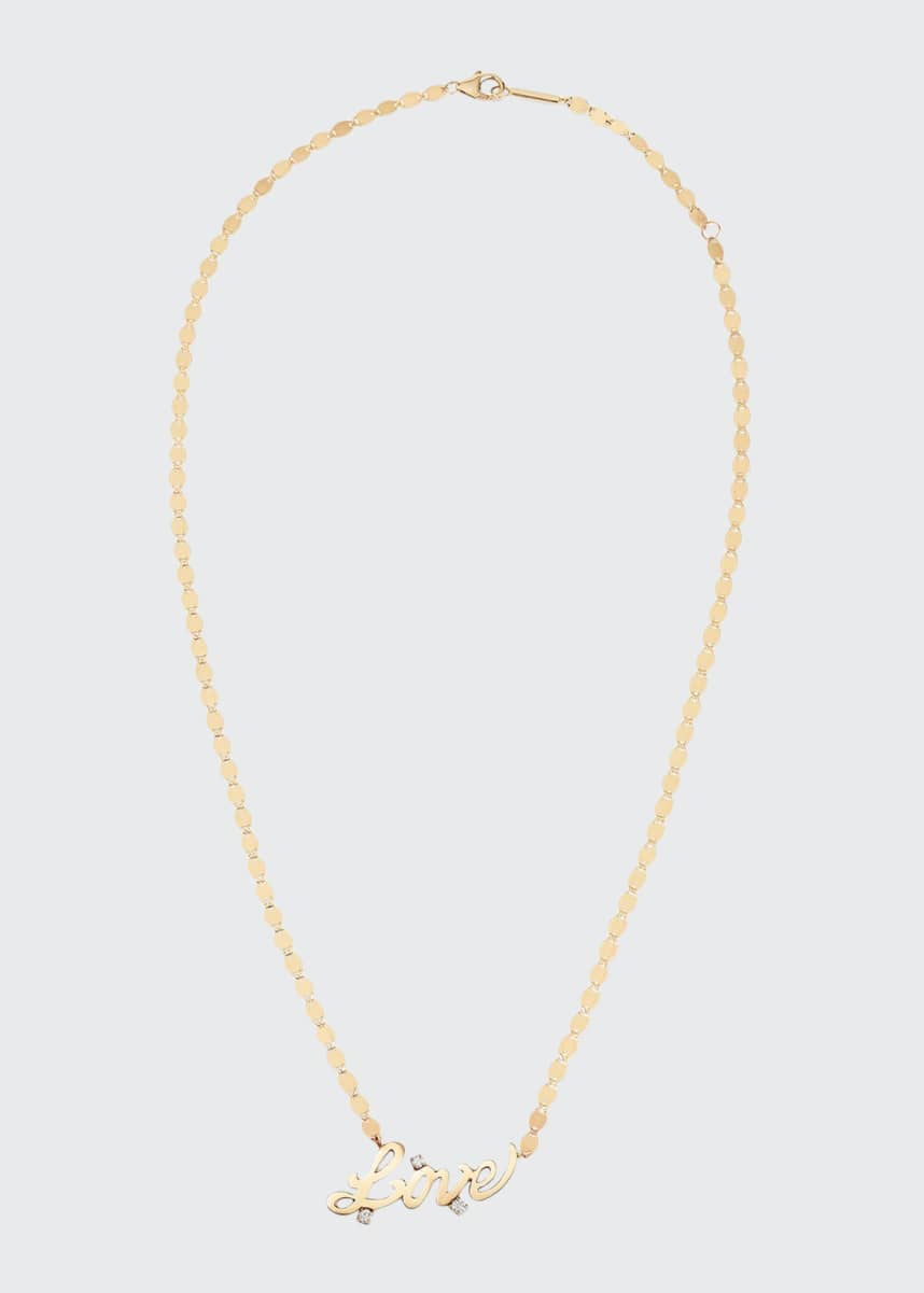 Lana 14k Solo Love Diamond Necklace