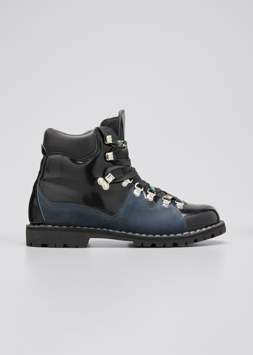 Cecilie Bahnsen Morgan Bicolor Hiking Booties