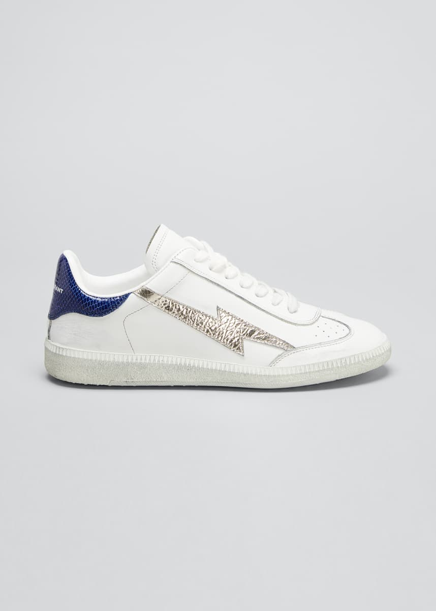 Isabel Marant Bryce Low-Top Tennis Sneakers