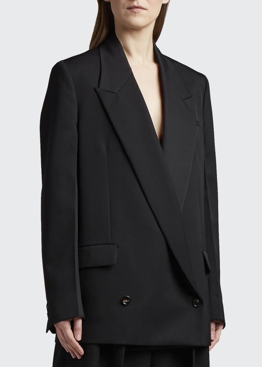Bottega Veneta Low Double-Breasted Jacket