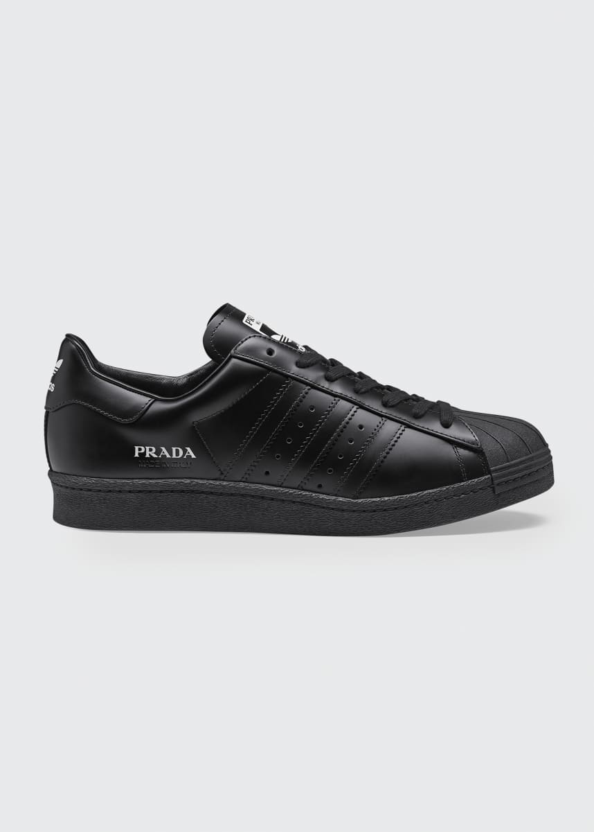 Adidas x Prada x Prada Superstar Low-Top Classic Sneakers
