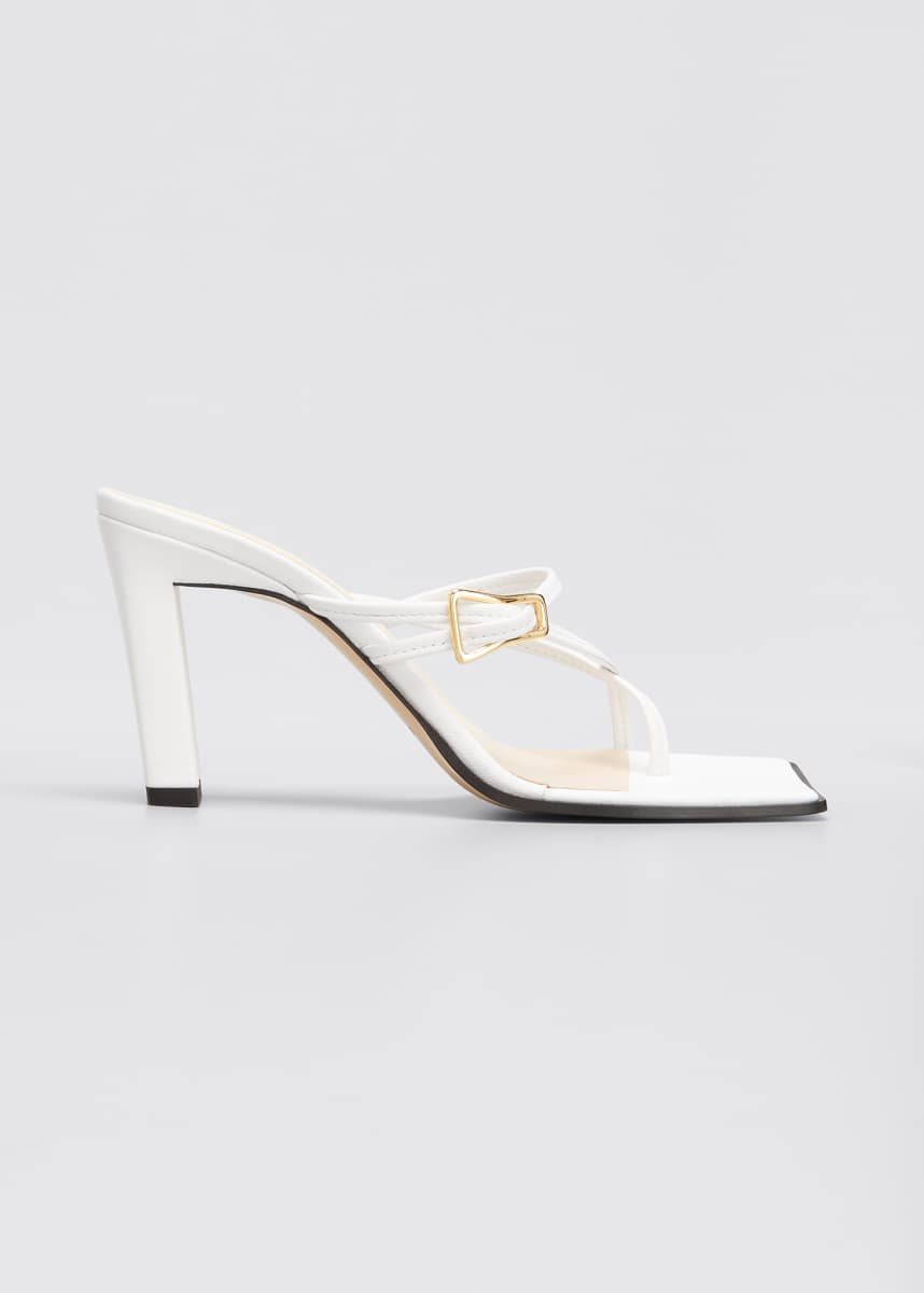 Wandler Yara 85mm Strappy Slide Sandals