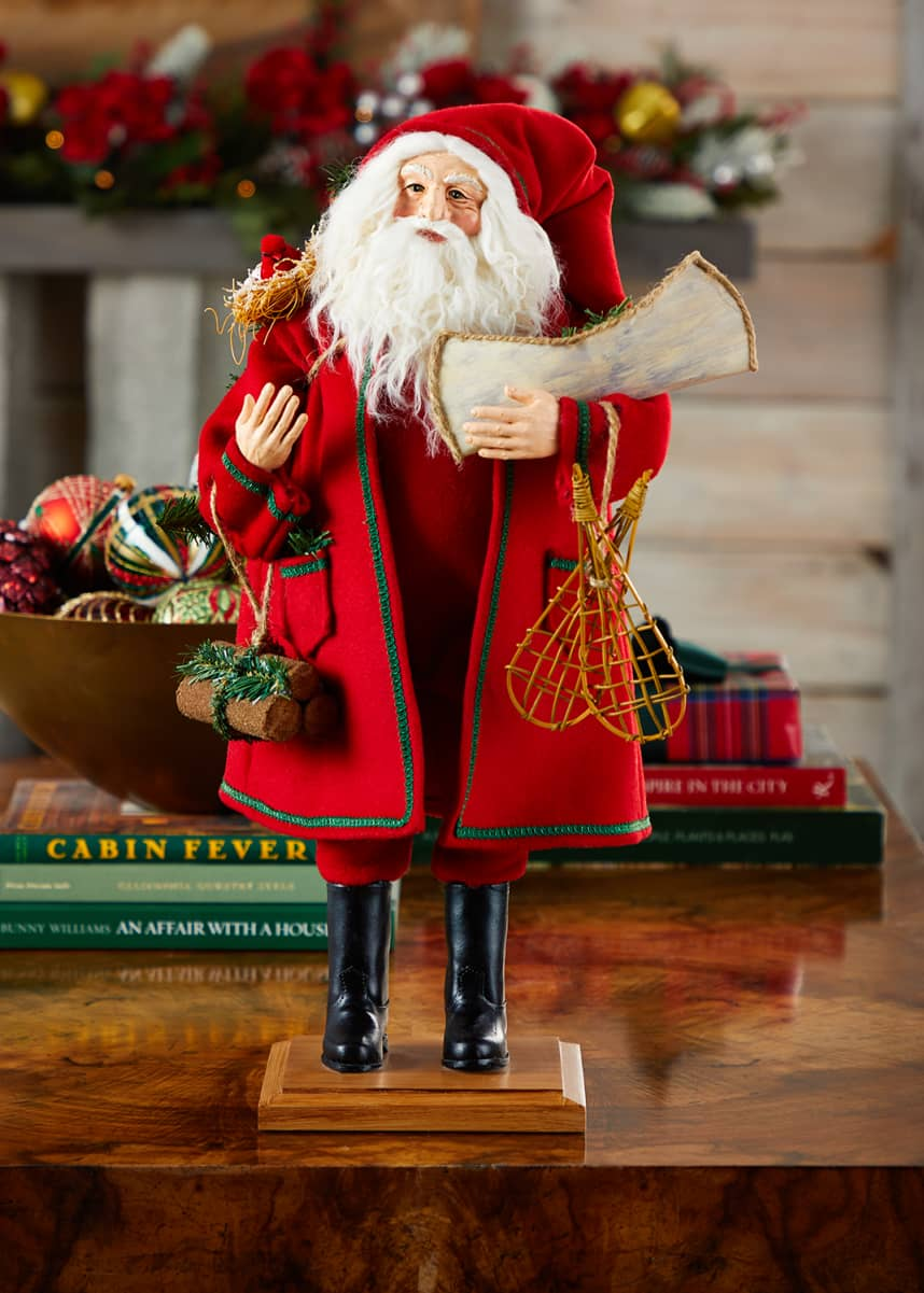 Lynn Haney Woodland Santa 2020
