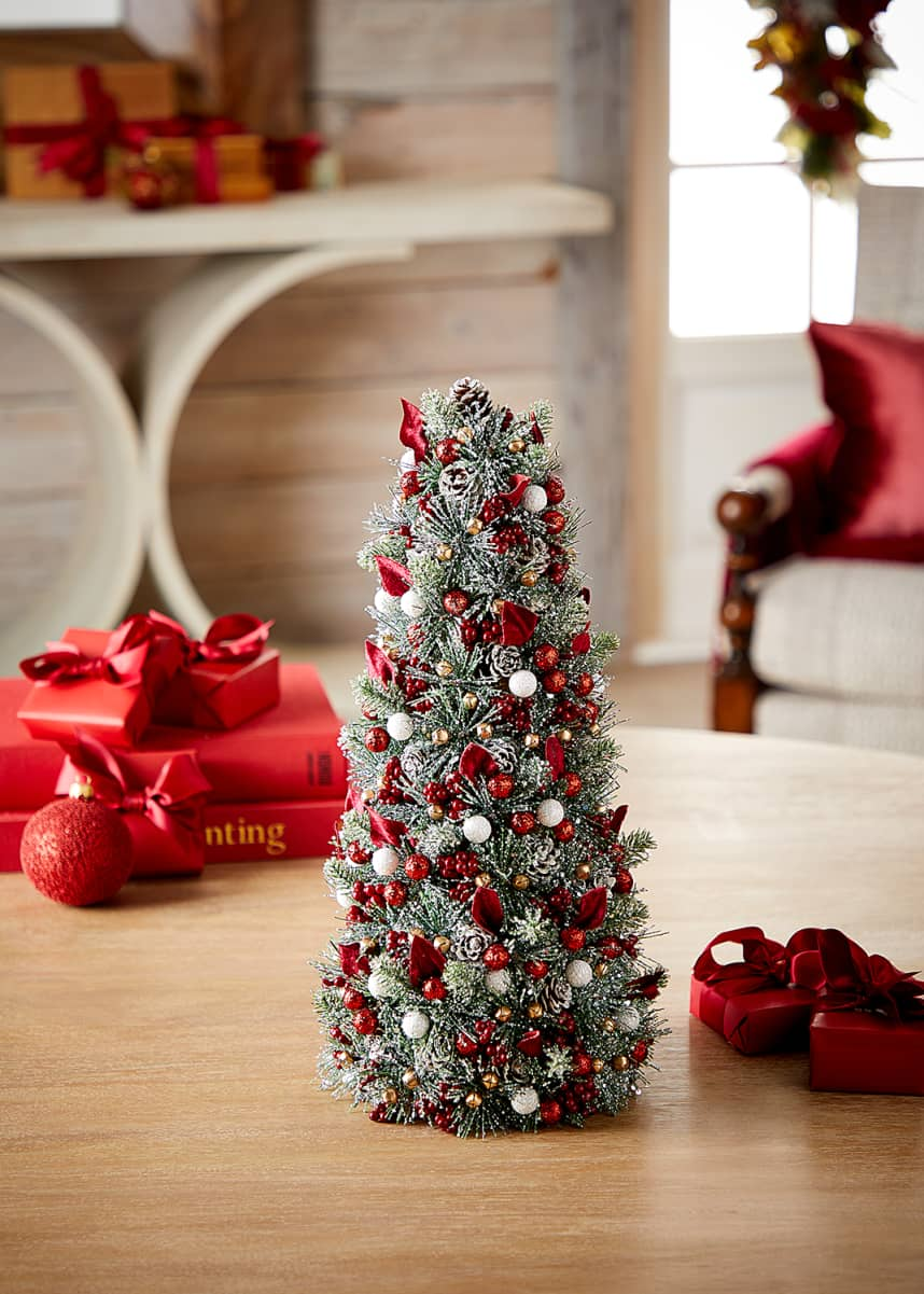 Salzburg Creations Sparkling Traditions Christmas Tree, 18""