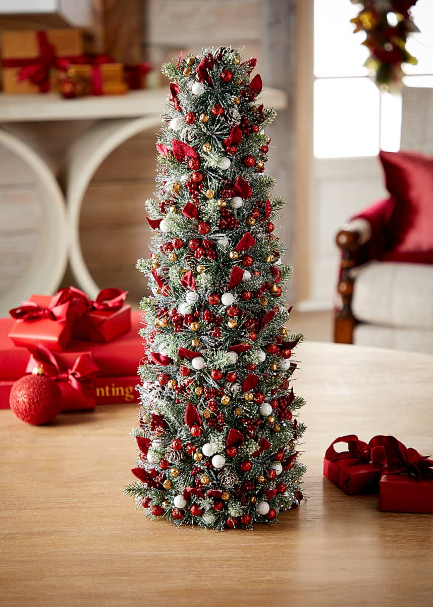 Salzburg Creations Sparkling Traditions Christmas Tree, 24""