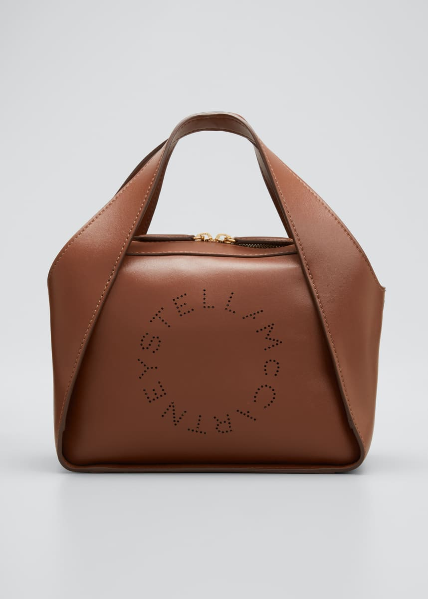 Stella McCartney Medium Eco Soft Logo Crossbody Bag