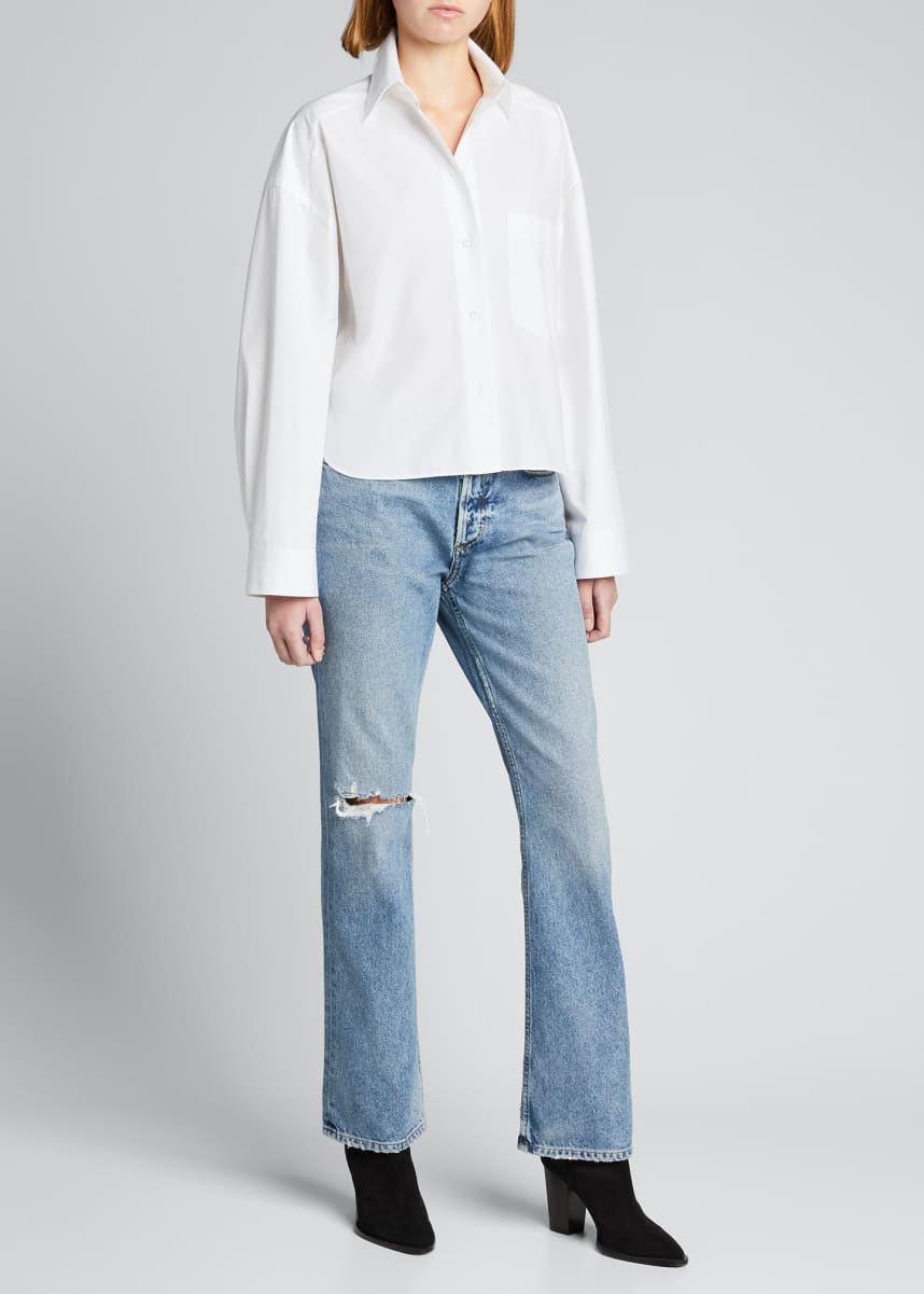 Goldsign The Nineties Boot-Cut Jeans