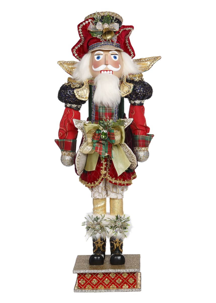 Mark Roberts Plaid Nutcracker #335
