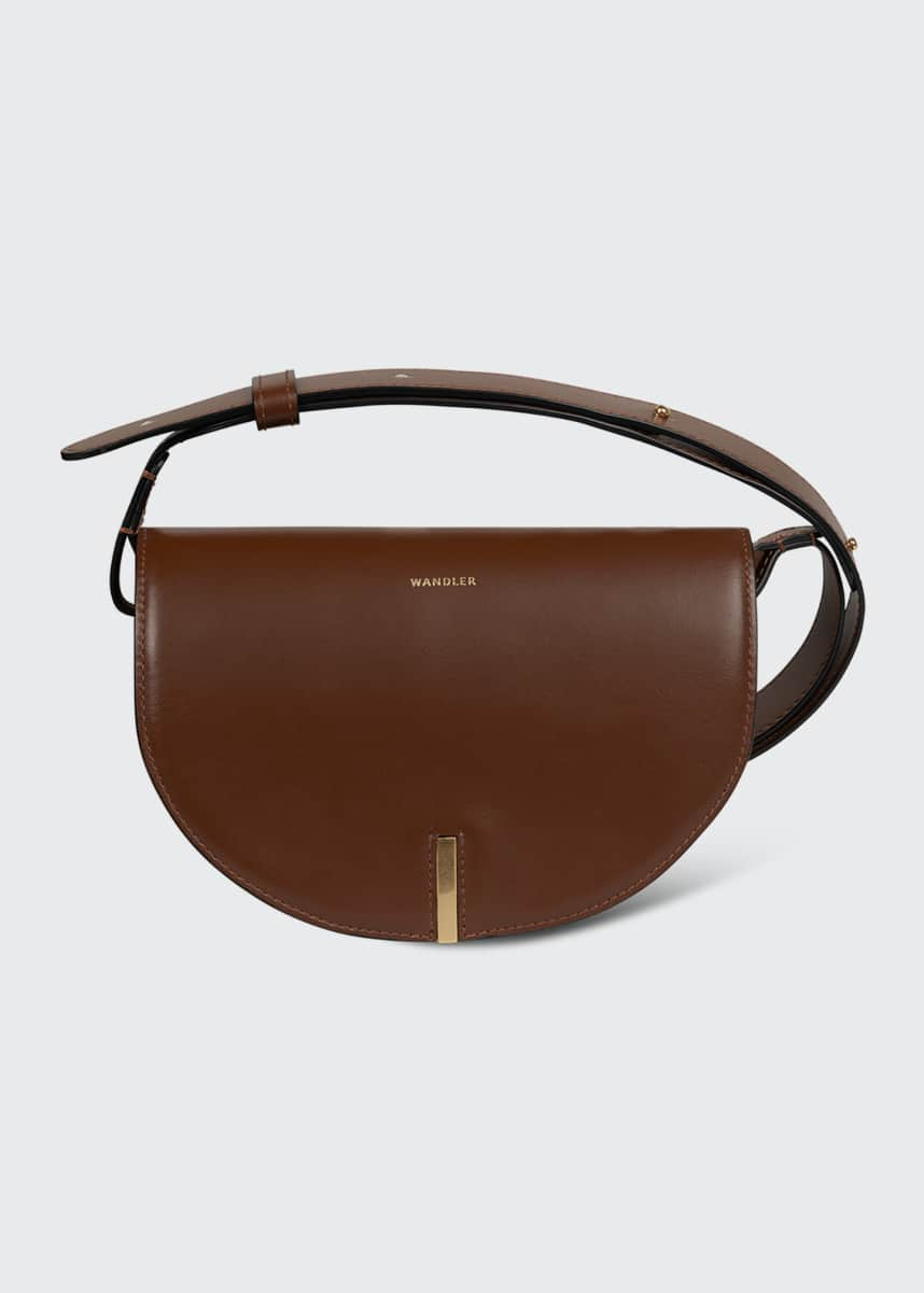 Wandler Nana Leather Crossbody Bag