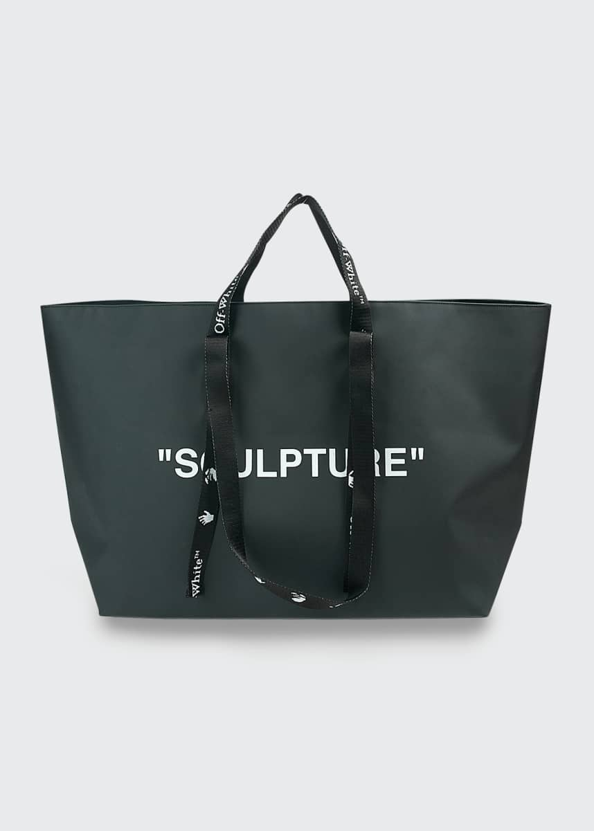 Off-White Commercial Sculpture Tote Bag