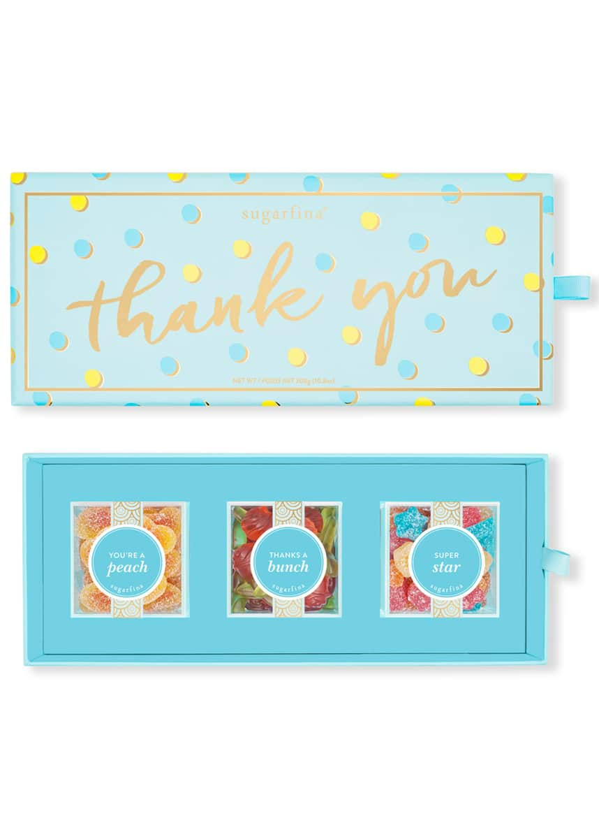 Sugarfina Thank You 3-Piece Bento Box