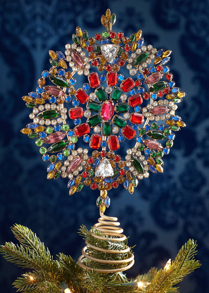 Cody Foster & Co Jeweled Tree Topper