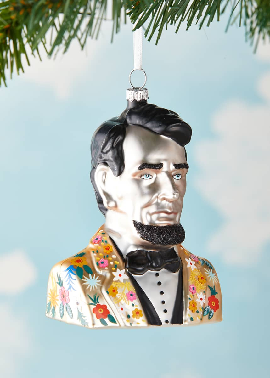 Cody Foster & Co Abe Lincoln Christmas Ornament