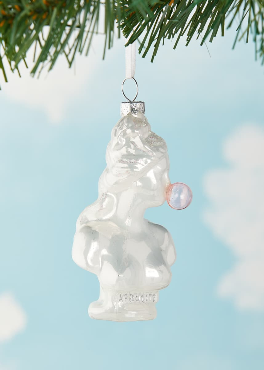 Cody Foster & Co Classical Bust With Bubblegum Christmas Ornament