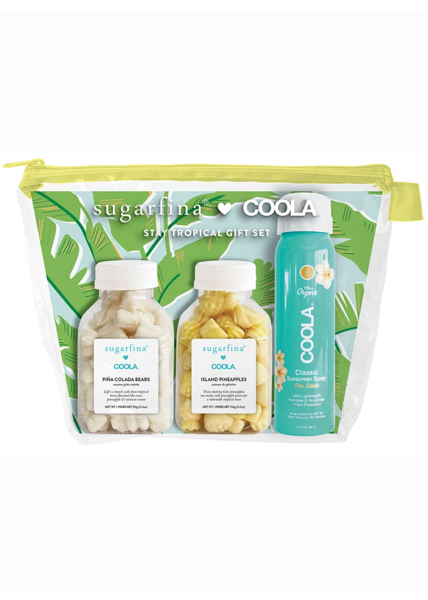 Sugarfina COOLA Stay Tropical Gift Set