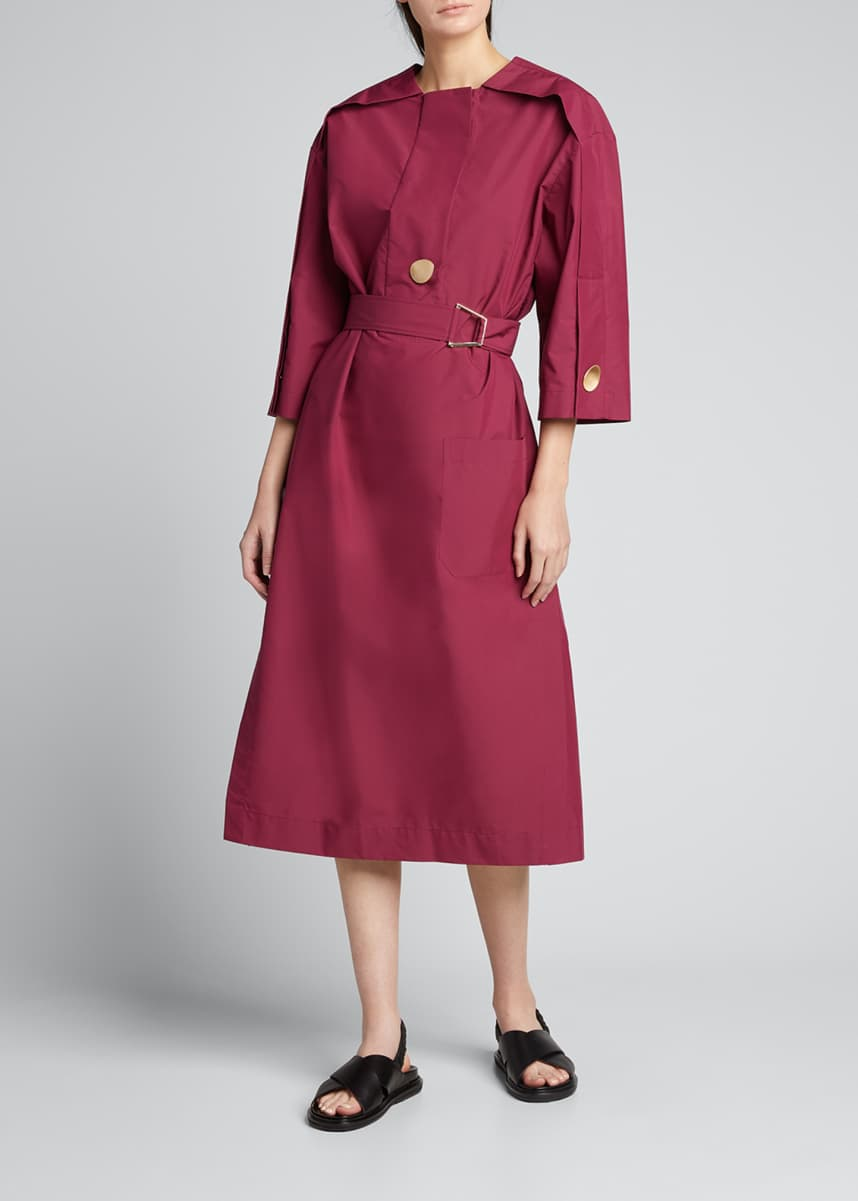 3.1 Phillip Lim Long-Sleeve Belted Shirtdress