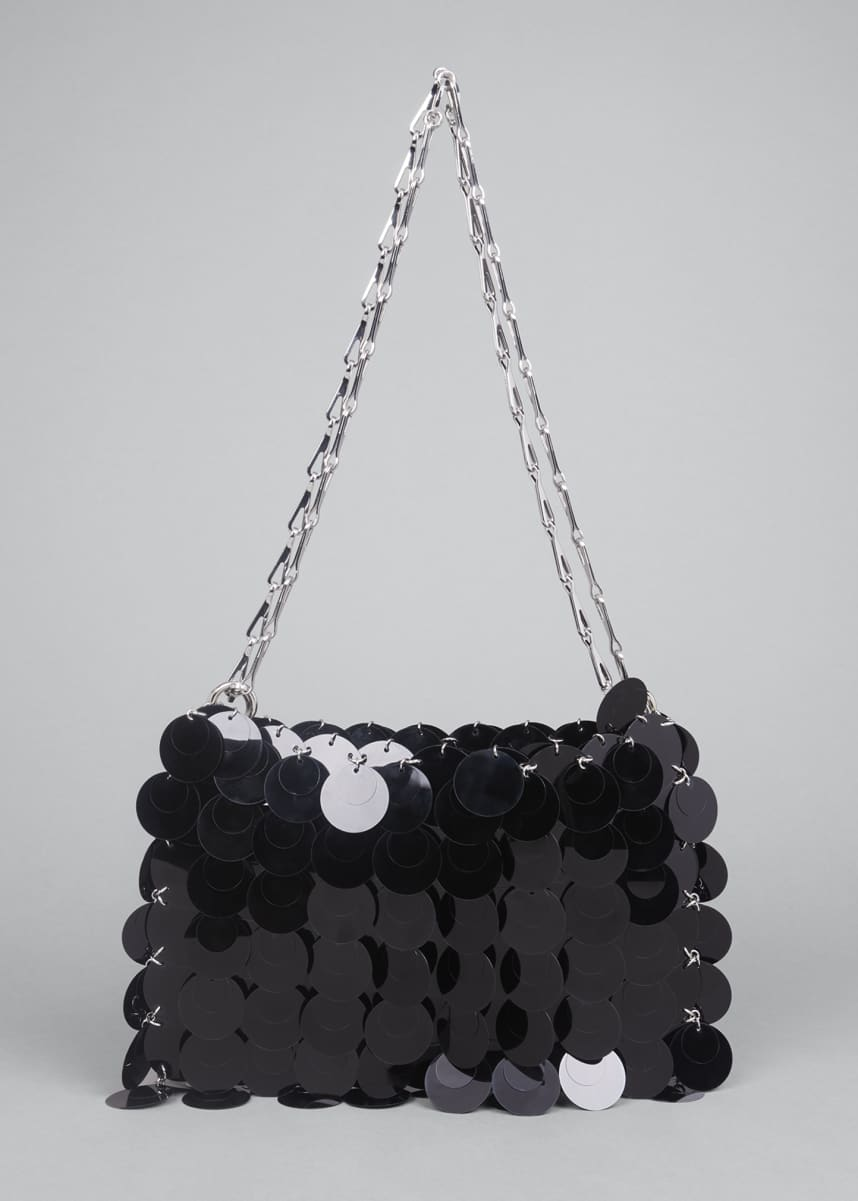 Paco Rabanne Sequin Chain Shoulder Bag