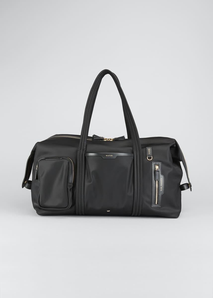 Anya Hindmarch In Flight Nylon Travel Shoulder Bag