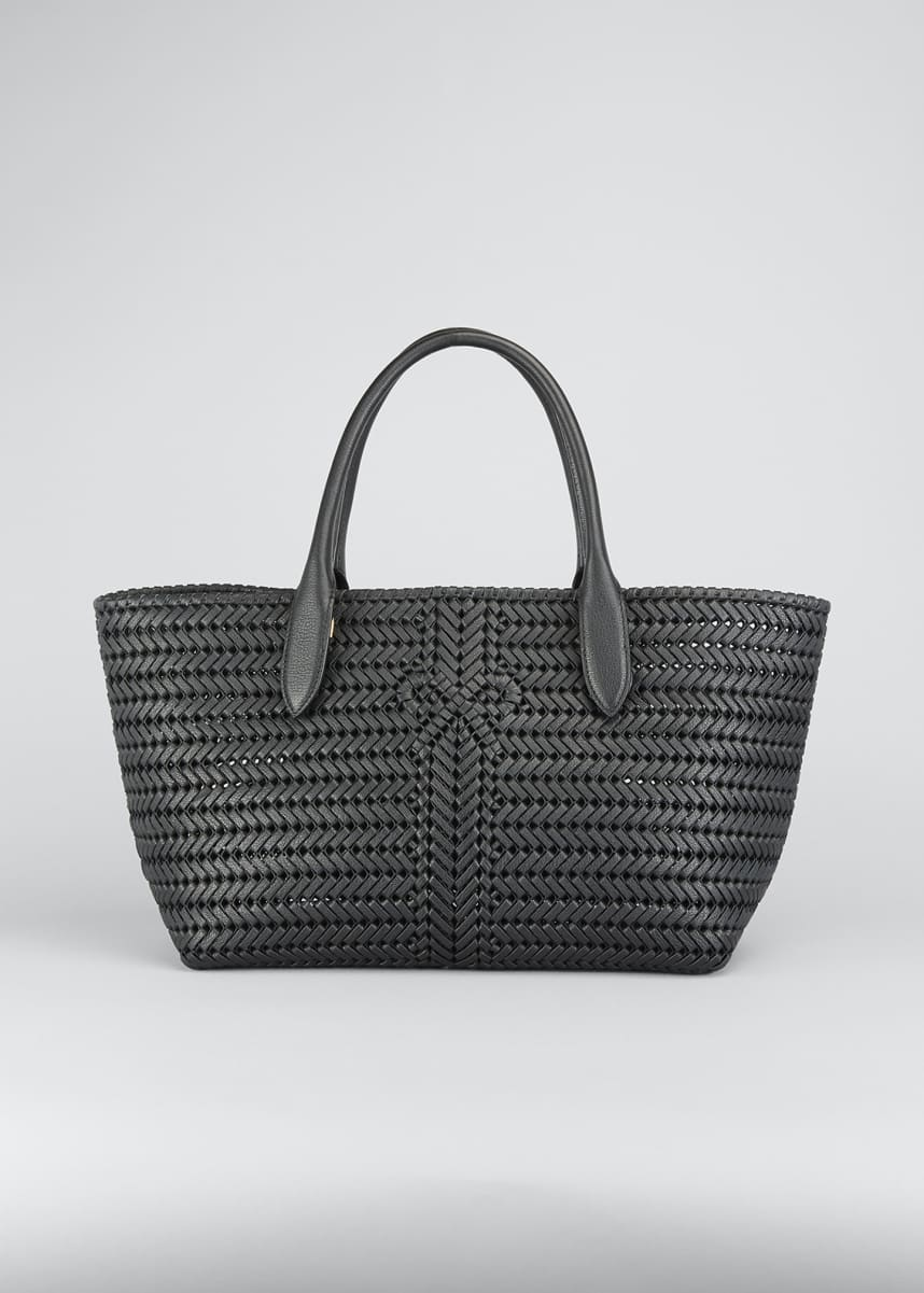 Anya Hindmarch The Neeson Woven Capra Tote Bag