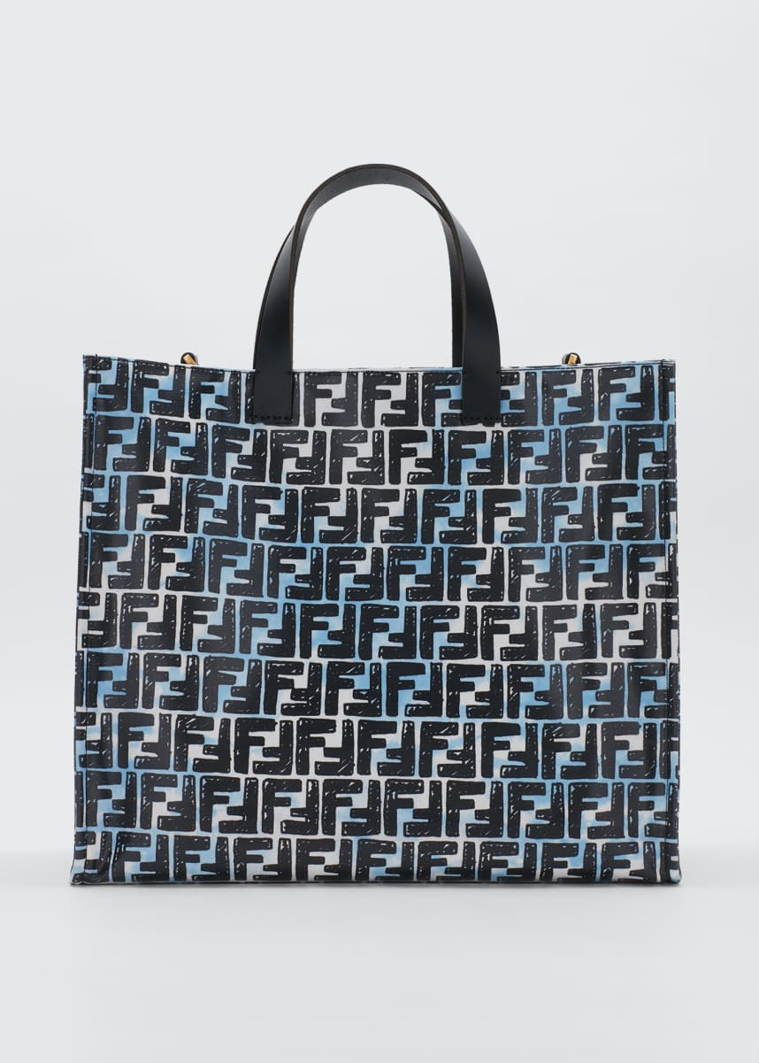 Fendi Vetrifi Small FF Shopping Tote Bag