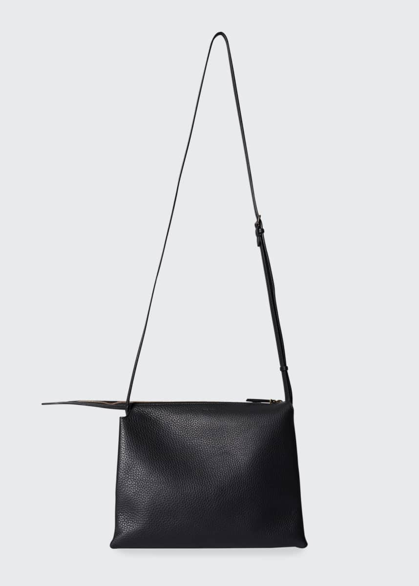 THE ROW Nu Twin Bag in Grained Calfskin