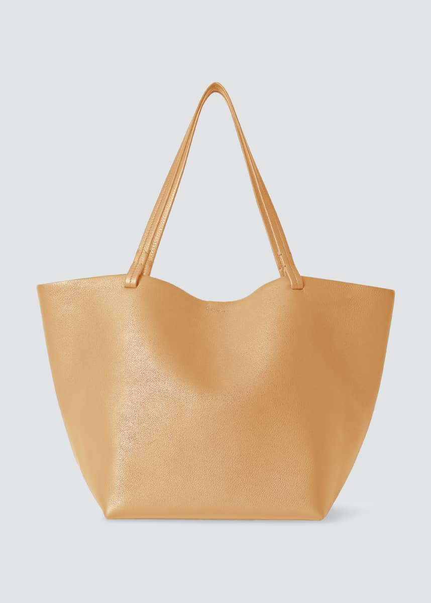 THE ROW Park Leather Shopper Tote Bag