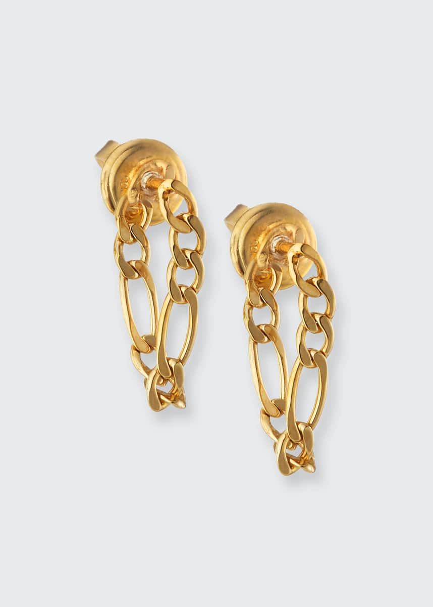 Bottega Veneta Chain Drop Earrings