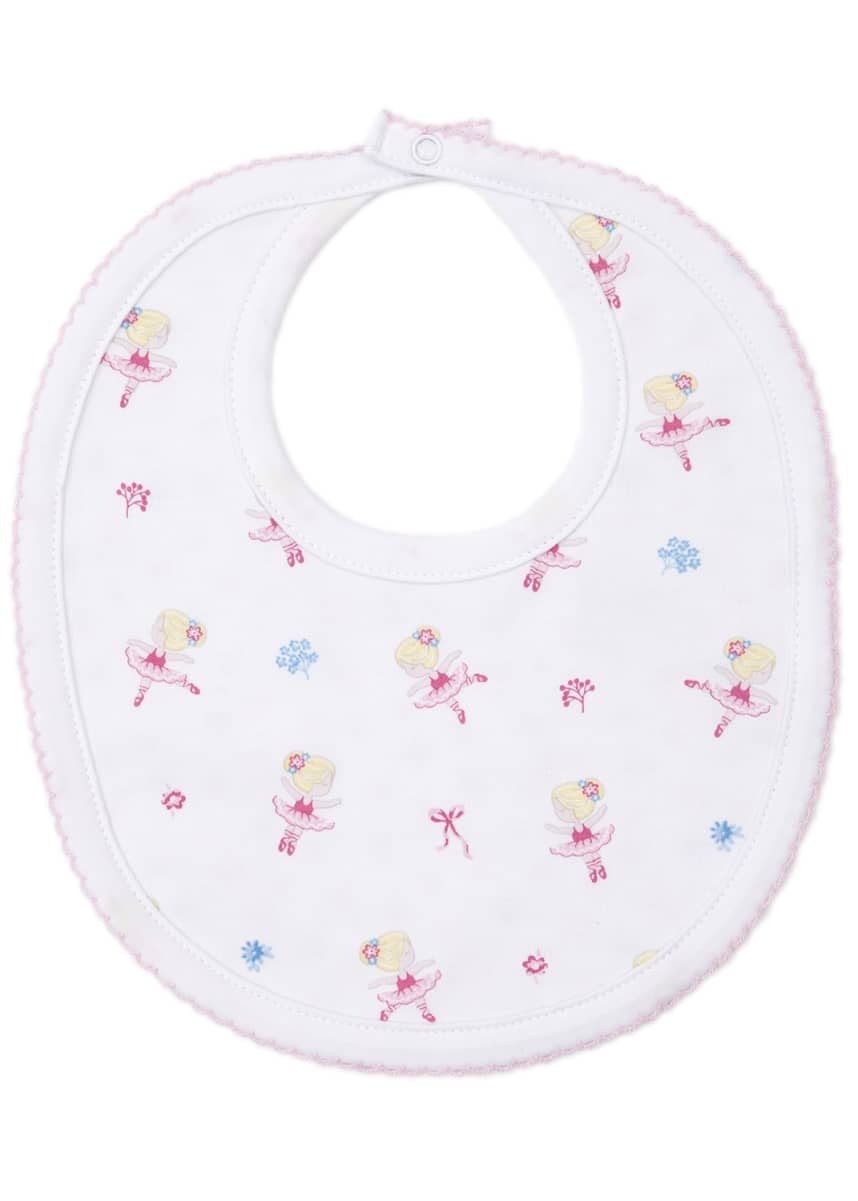 Kissy Kissy Perfect Pirouette Reversible Pima Bib
