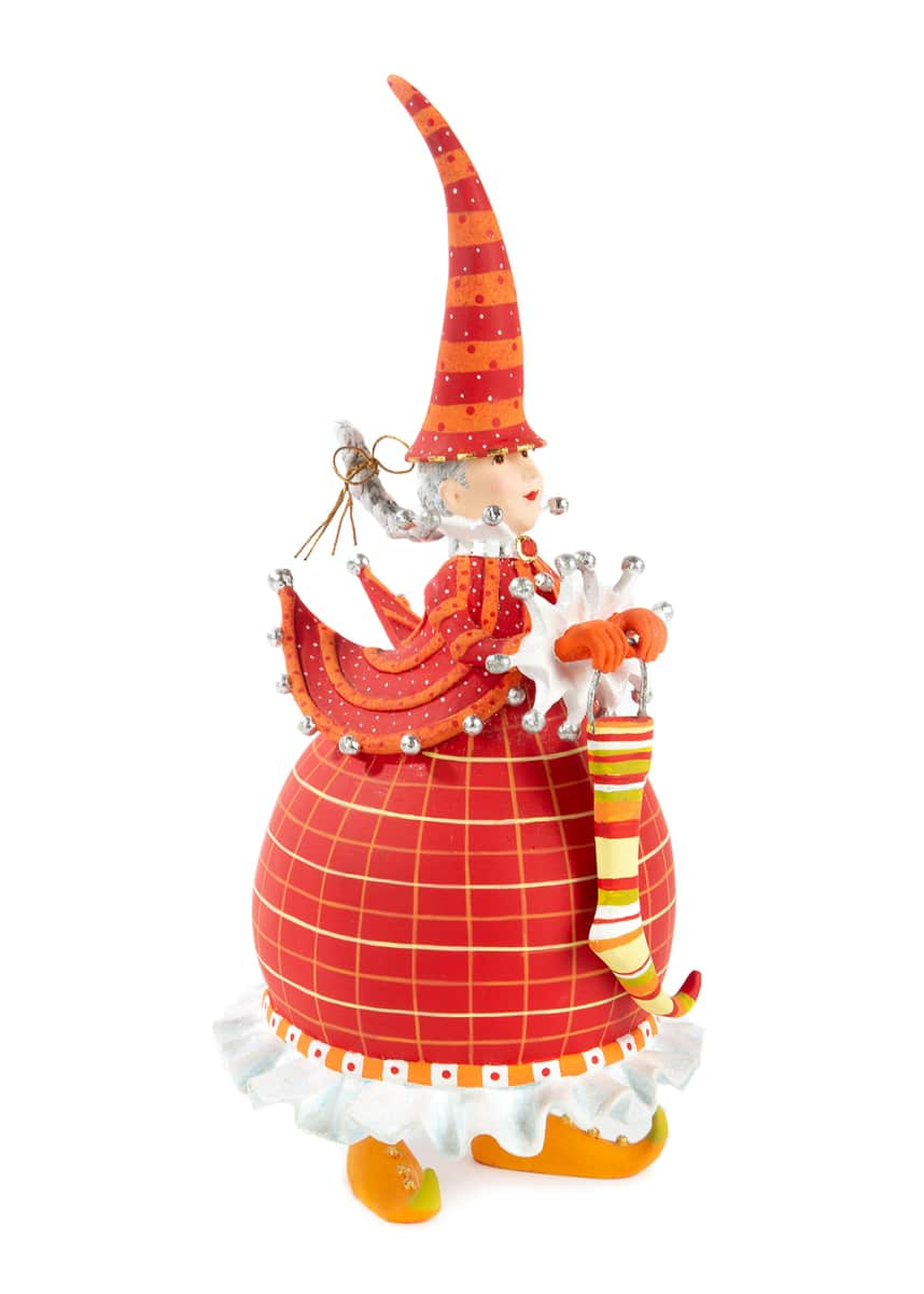 Patience Brewster Dash Away Mrs. Santa Claus Figure
