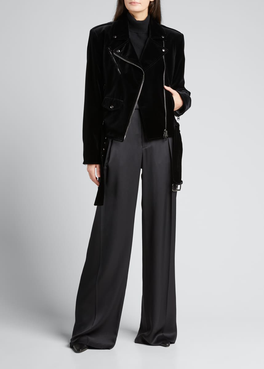TOM FORD Velvet Moto Jacket