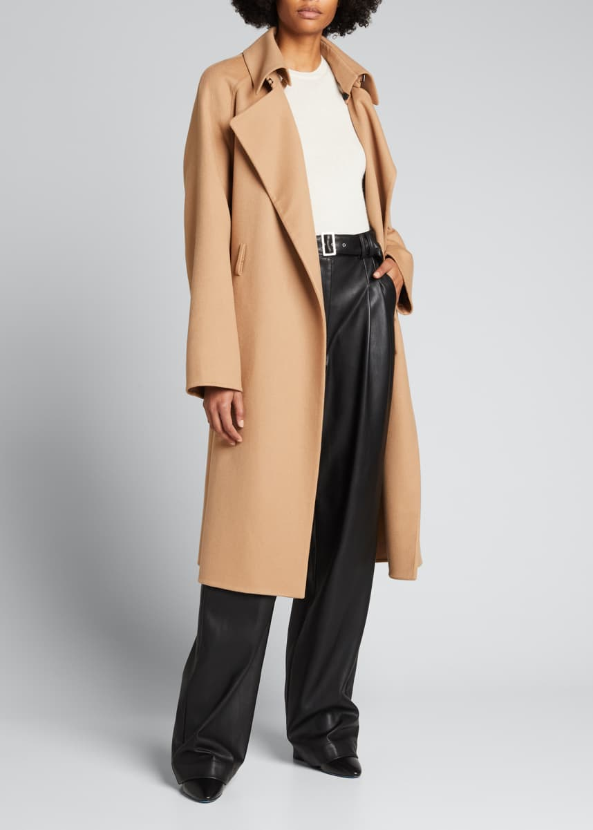 TOM FORD Belted Cashmere Trench Coat