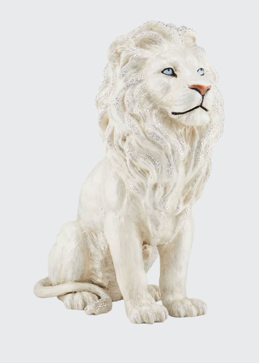 Jay Strongwater Majestic Lion Figurine