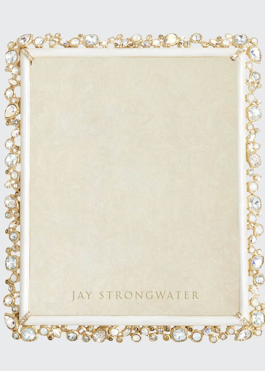 "Jay Strongwater Bejeweled Frame, 8"" x 10"""