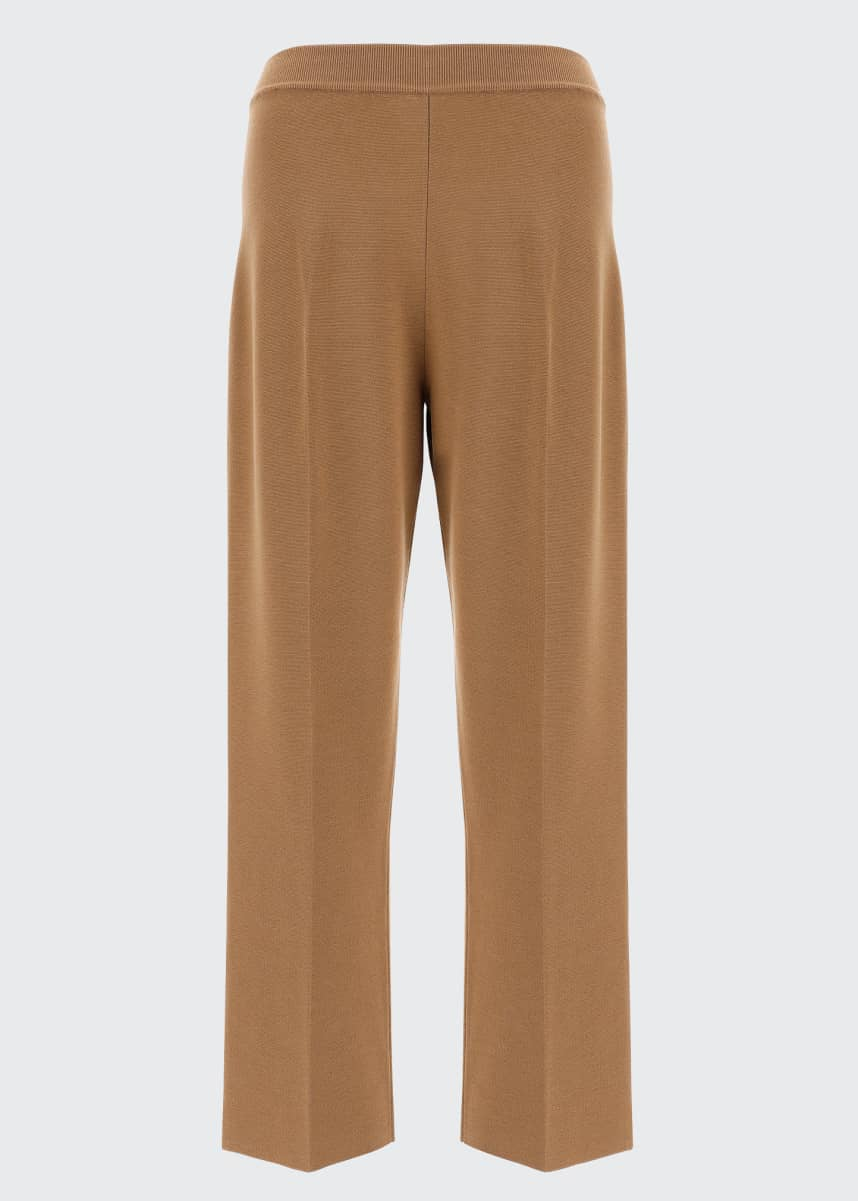 Loro Piana Fifth Avenue Cashmere-Silk Pants