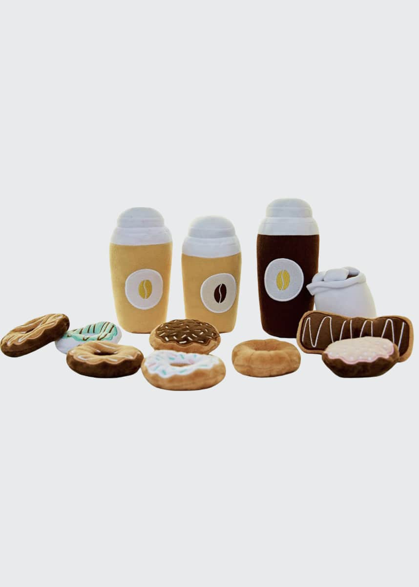 ASWEETS Coffee and Donut Play Food Set