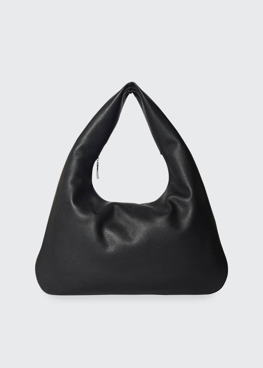 THE ROW Everyday Shoulder Bag in Luxe Grained Calfskin