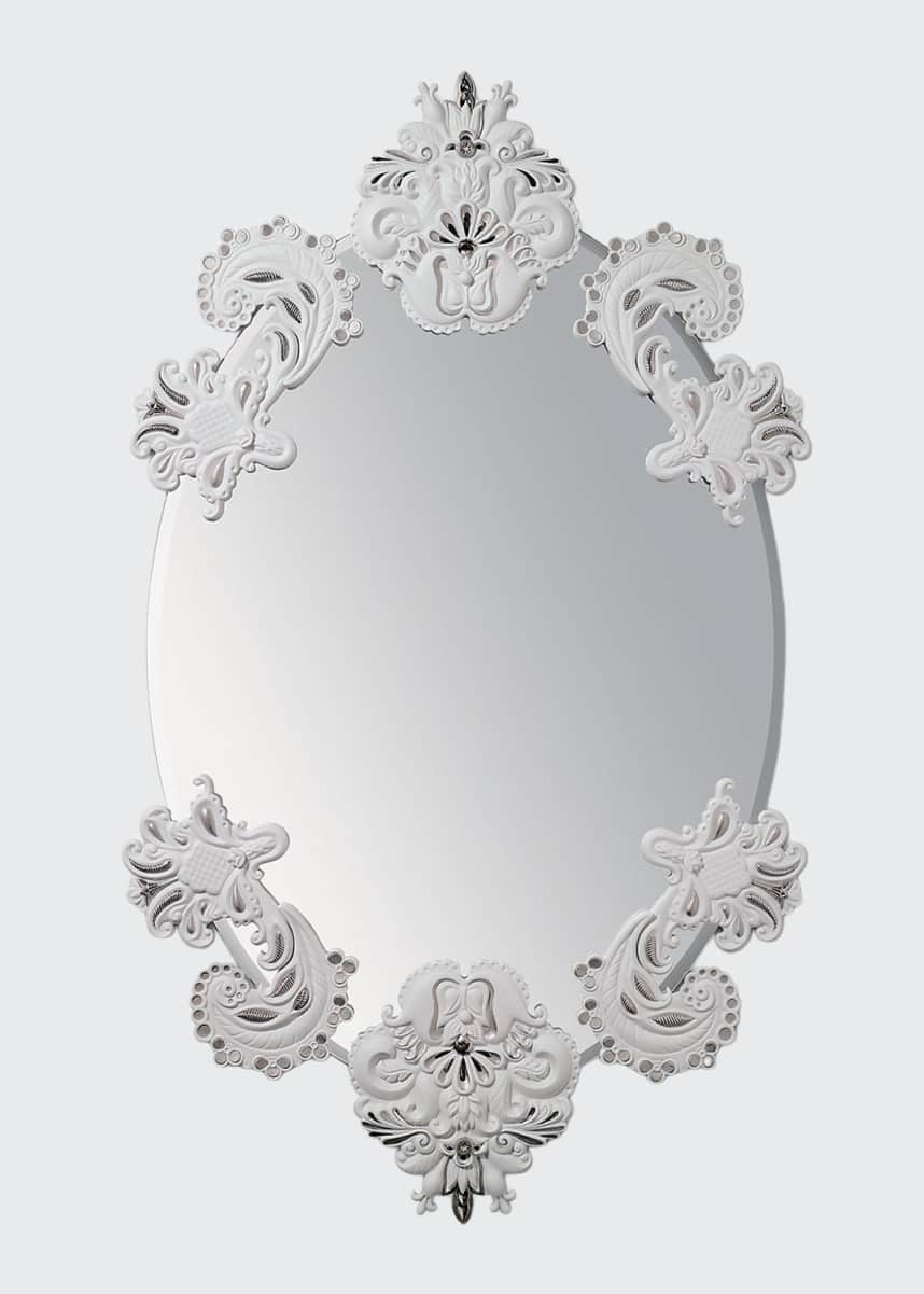 Lladro Oval Wall Mirror