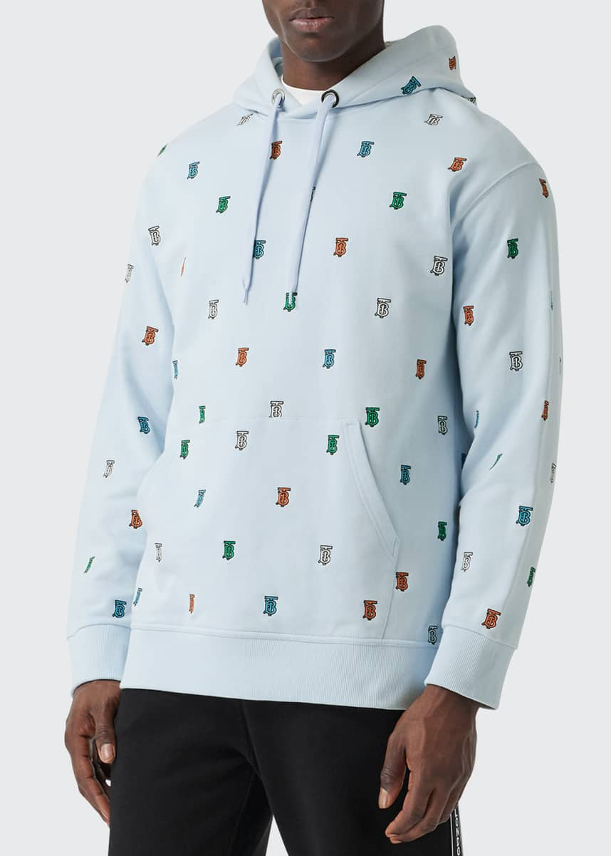 Burberry Men's Kreptston Multicolor TB Hoodie